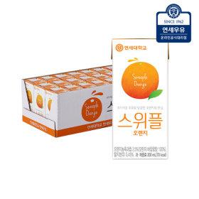 스위플 오렌지200mlx24입  과일음료/음료