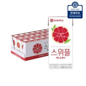 스위플 레드오렌지200mlx24입   과일음료/음료