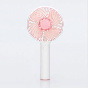 LOOC 룩 휴대용 선풍기 핑크 미니 핸디형 손 핸드