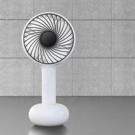 LOOC/Handheld Electric Fan/Black/Mini/Handy/Hand