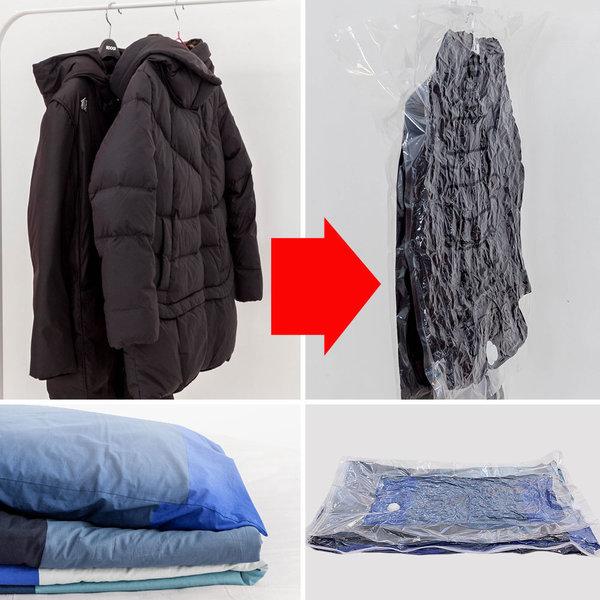 압축팩 옷걸이압축팩 의류압축팩 이불압축팩 상품이미지