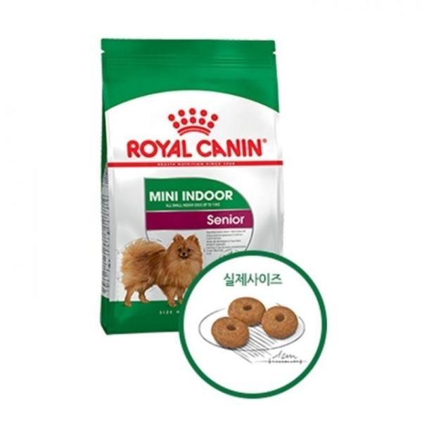 로얄캐닌 독 미니 인도어 시니어 1.5kg 강아지 사료 상품이미지
