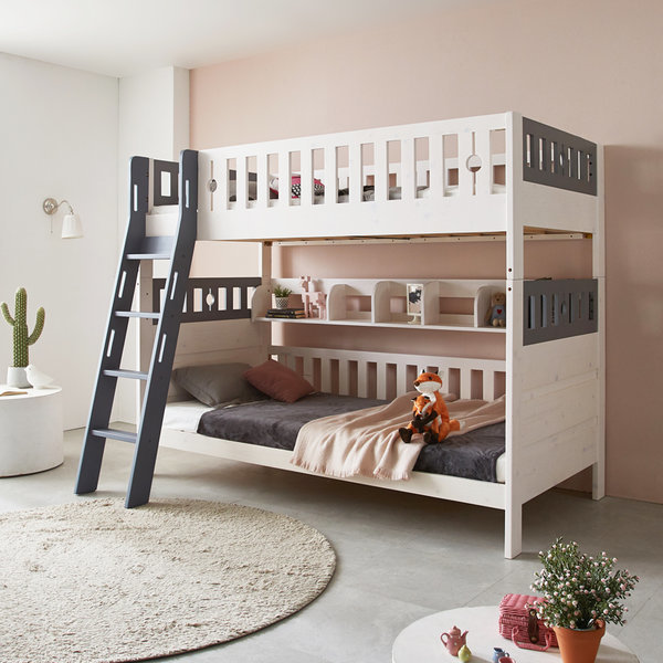 파로마 블랑 원목 분리형 이층침대 2층/매트리스 상품이미지