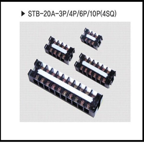 터미널블럭6P20A 단자대20A6P STB-20A-6P 20개1박스 상품이미지