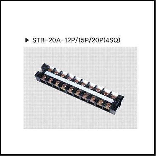 고정식단자대20P20A단자대20A20PSTB-20A-20P20개1박스 상품이미지
