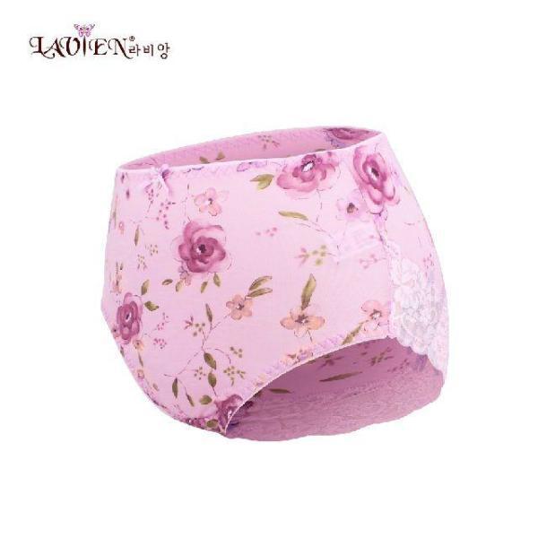 라비앙 꽃무늬나염 텐셀 노라인팬티 EPT2007 상품이미지