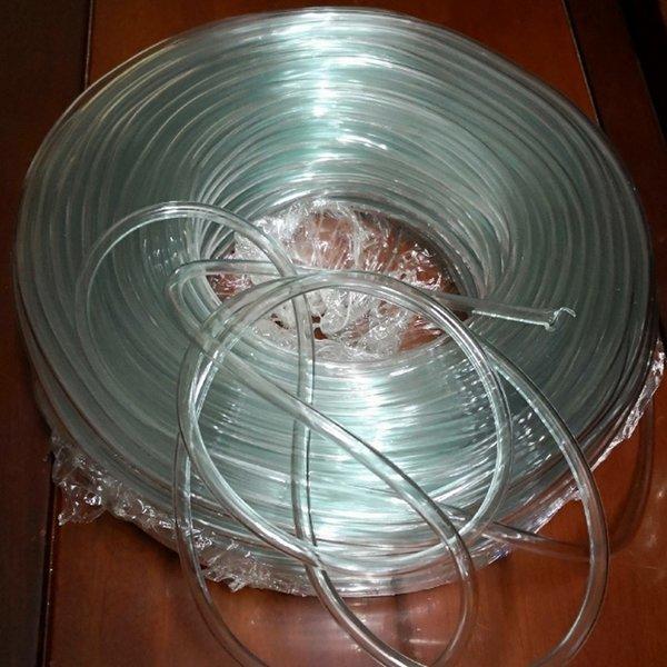 수족관 투명 공기 호스 1미터(8mm)-펌프 튜브 에어 상품이미지