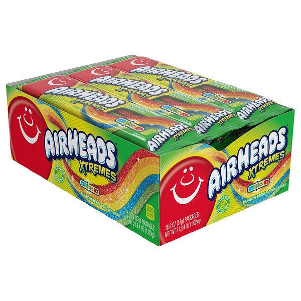 에어헤드 캔디 사탕 익스트림 사우어 18팩 Airheads 상품이미지