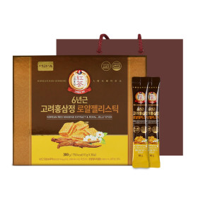 6년근 고려홍삼정 로얄젤리스틱 홍삼스틱 홍삼 1박스