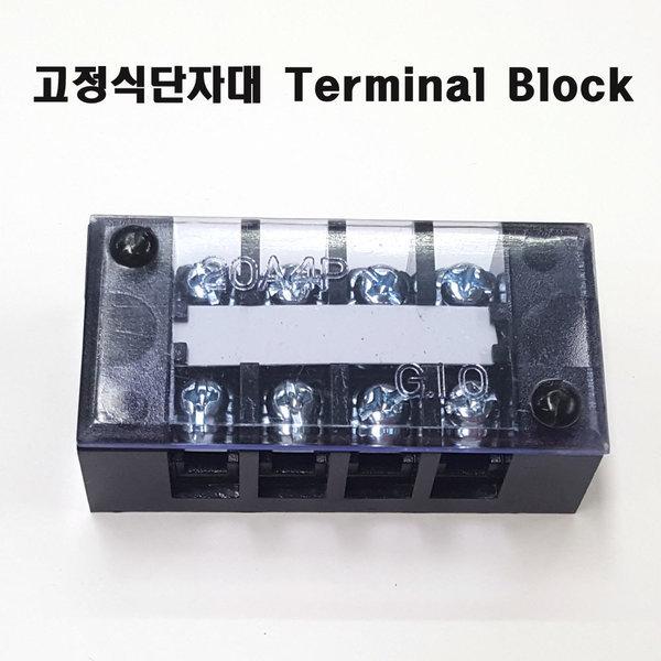 터미널블럭4P100A단자대100A4PSTB-100A-4P10개1박스 상품이미지