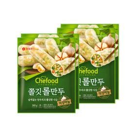 쉐푸드 의성마늘 롤만두 360gx4팩 /키친타올+빠삐코2종