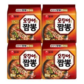 오징어짬뽕 5입 멀티팩 4봉 (총20개)
