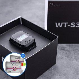 X플러스 볼/마이캐디 WT S3 시계형거리측정기