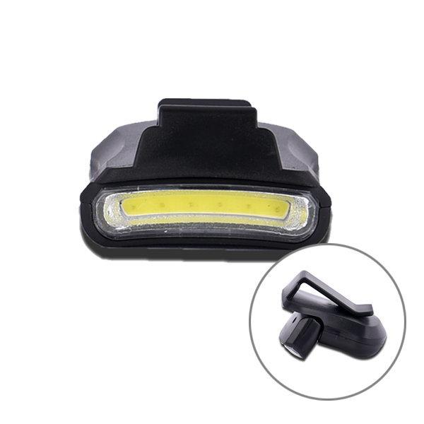 CoB LED 클립형 각도조절 캡라이트 헤드랜턴 낚시랜턴 상품이미지