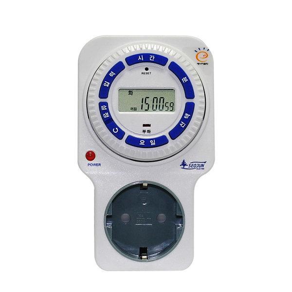 전자식 고용량 타이머 (콘센트형) SJD-C16H 상품이미지