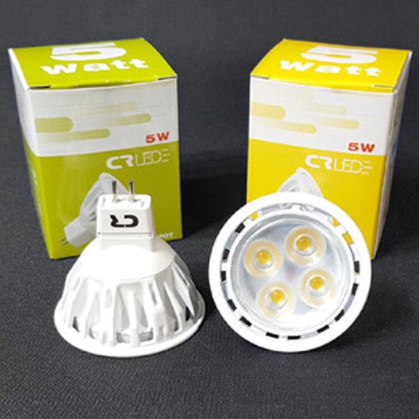 LED MR16 전구 5W 4구 12V 220V 할로겐 램프 레일조명 상품이미지