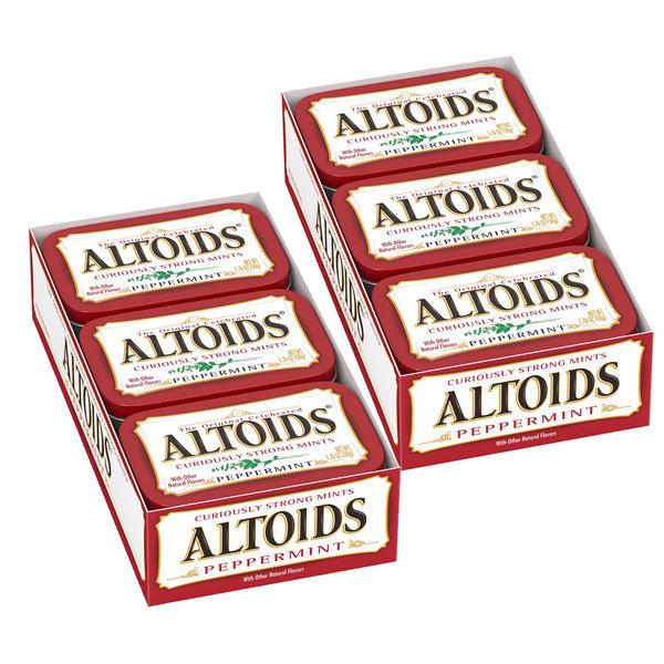 Altoids 알토이즈 페퍼민트 50 g x 12팩 상품이미지
