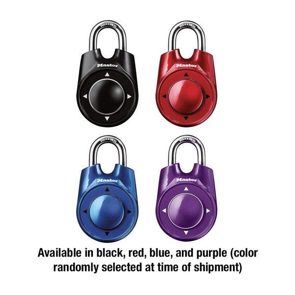 방향자물쇠 1500id 마스터락 방탈출자물쇠 색상랜덤 상품이미지