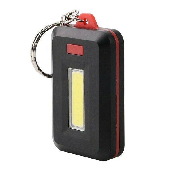 COB LED 키체인 플래쉬라이트 미니 손전등 상품이미지