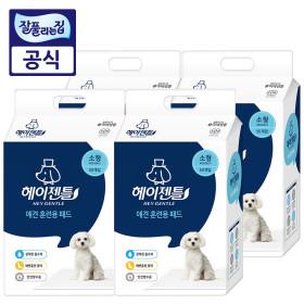 헤이젠틀 애견 배변패드36g 50매x4팩(총200매) +각티슈