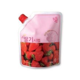 딸기시럽 500g
