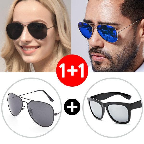 1+1 보잉 미러선글라스 패션안경테 썬글라스 선그라스 상품이미지