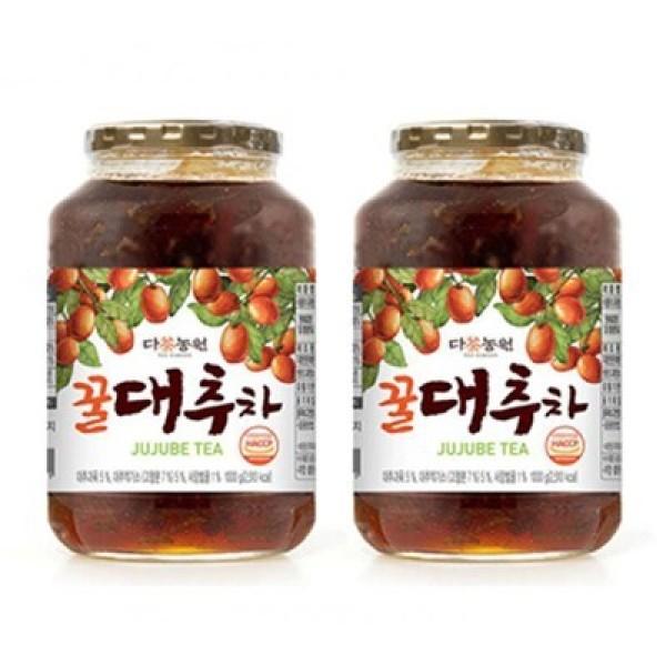 다농원 꿀대추차 1kg 2개묶음 (732519) 상품이미지