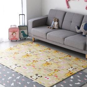 쥬쥬 놀이방매트 200x140x1.35cm