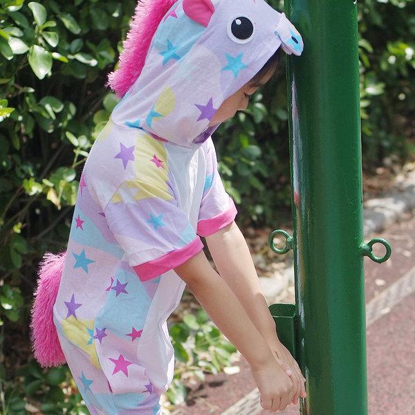 파스텔스타유니콘 반팔잠옷 캐릭터동물잠옷 여름잠옷 상품이미지