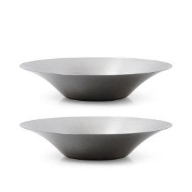 멀티 샐러드볼 2P (25cm)/ 파스타 접시 스텐접시 그릇