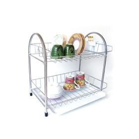 SM 리빙 식기건조대 2단 / 스텐 식기건조대 개수대