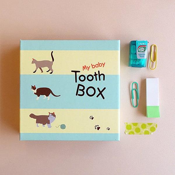 마이 베이비 투스 박스 유치보관함  ver.2 고양이 상품이미지