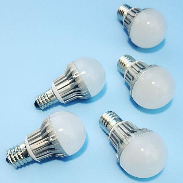 CR 미니 크립톤 E14 E17 4W 꼬마 전구 램프 불투명 상품이미지