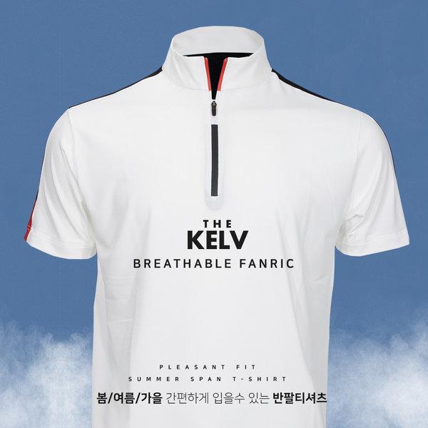 켈브 남자 카라티셔츠 여름 반팔티셔츠 골프웨어 상품이미지