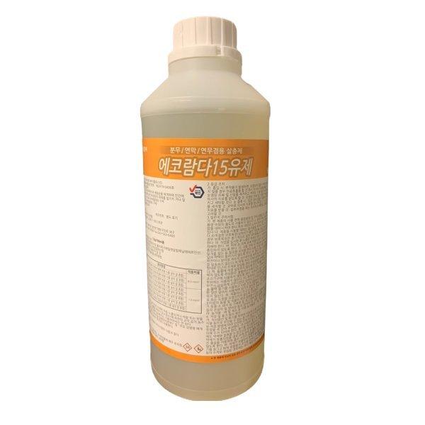 파리 모기 살충제 비오람다15 1리터 분무연막 살충제 상품이미지