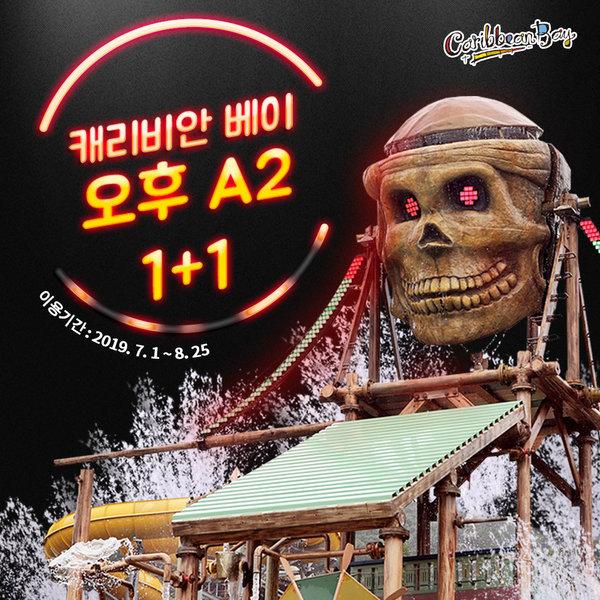(10%카드할인)(공식판매처)캐리비안베이 오후 2인 이용권(7/2~8/25) 상품이미지