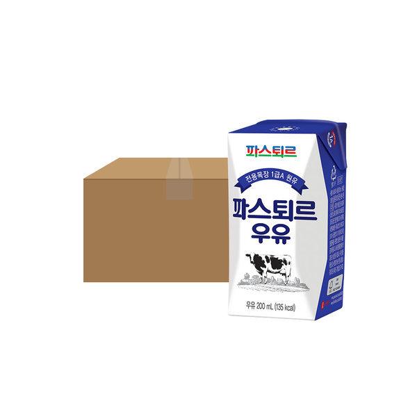 파스퇴르 전용목장 200mL 흰 멸균우유 18입 상품이미지