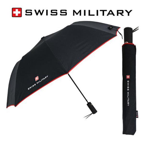 2단 자동 우산 레드바이어스 고급 브랜드 휴대용 선물 상품이미지