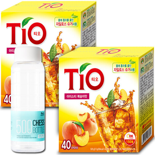 티오 복숭아 아이스티 40T+40T+티오 18T 증정 상품이미지