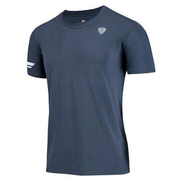 남성용 캐주얼 통기성 스포츠웨어 라운드넥 티셔츠 상품이미지