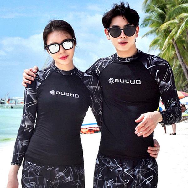비욘 남여 래쉬가드 수영복 비치웨어 빅사이즈 ~3XL 상품이미지