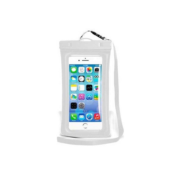 1+1 프리미엄 스마트폰 방수팩 IPX8  화이트 상품이미지