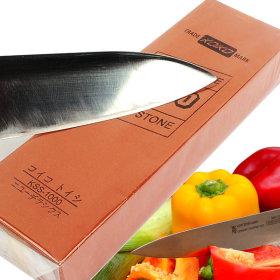 칼갈이 1000방 숫돌 연마석 칼 가위 낫 숯돌 연마기