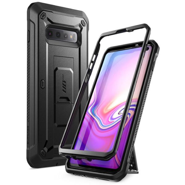 Supcase 갤럭시S10 5G 핸드폰케이스 보호커버 블랙 상품이미지