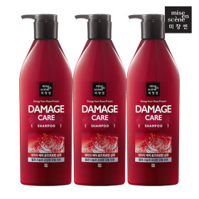 mise en scene Damage Care Shampoo 680ml X 3pcs