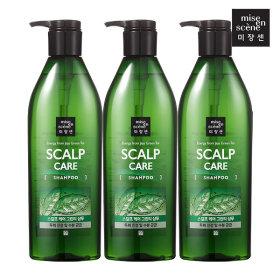mise en scene Scalp Care Shampoo 680ml X 3pcs
