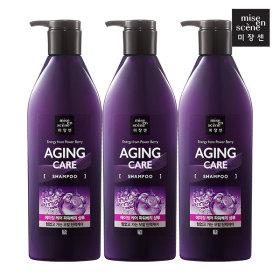 mise-en-scene Aging Care Shampoo 680ml x3