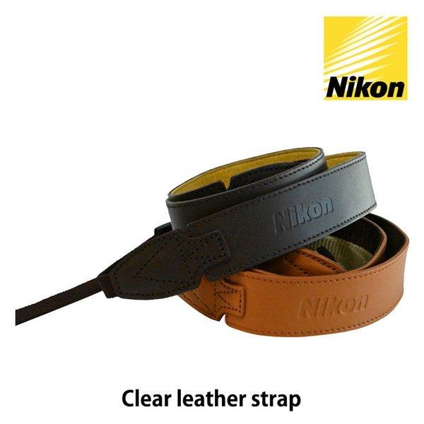 니콘이미징코리아정품  Nikon Clear leather strap 클리어 레더 스트랩 상품이미지