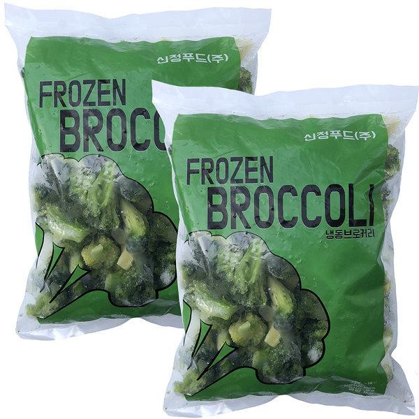 프리미엄 냉동 브로콜리 A급 2팩 1kg+1kg 상품이미지