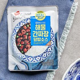 리얼)해물 간짜장덮밥 소스 100G